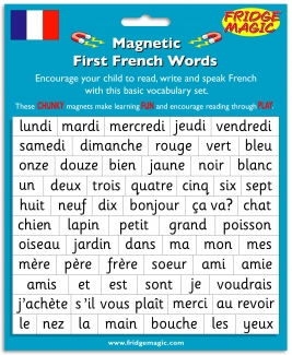 Magnetic First French Words