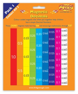 Magnetic Teach Yourself Decimals