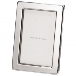 Narrow Classic Silver Plated Frame-10x8""
