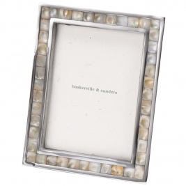Mother of Pearl Mosaic Frame-10x8""